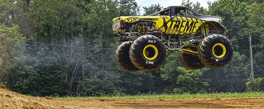 XDP Diesel Monster Truck Jump