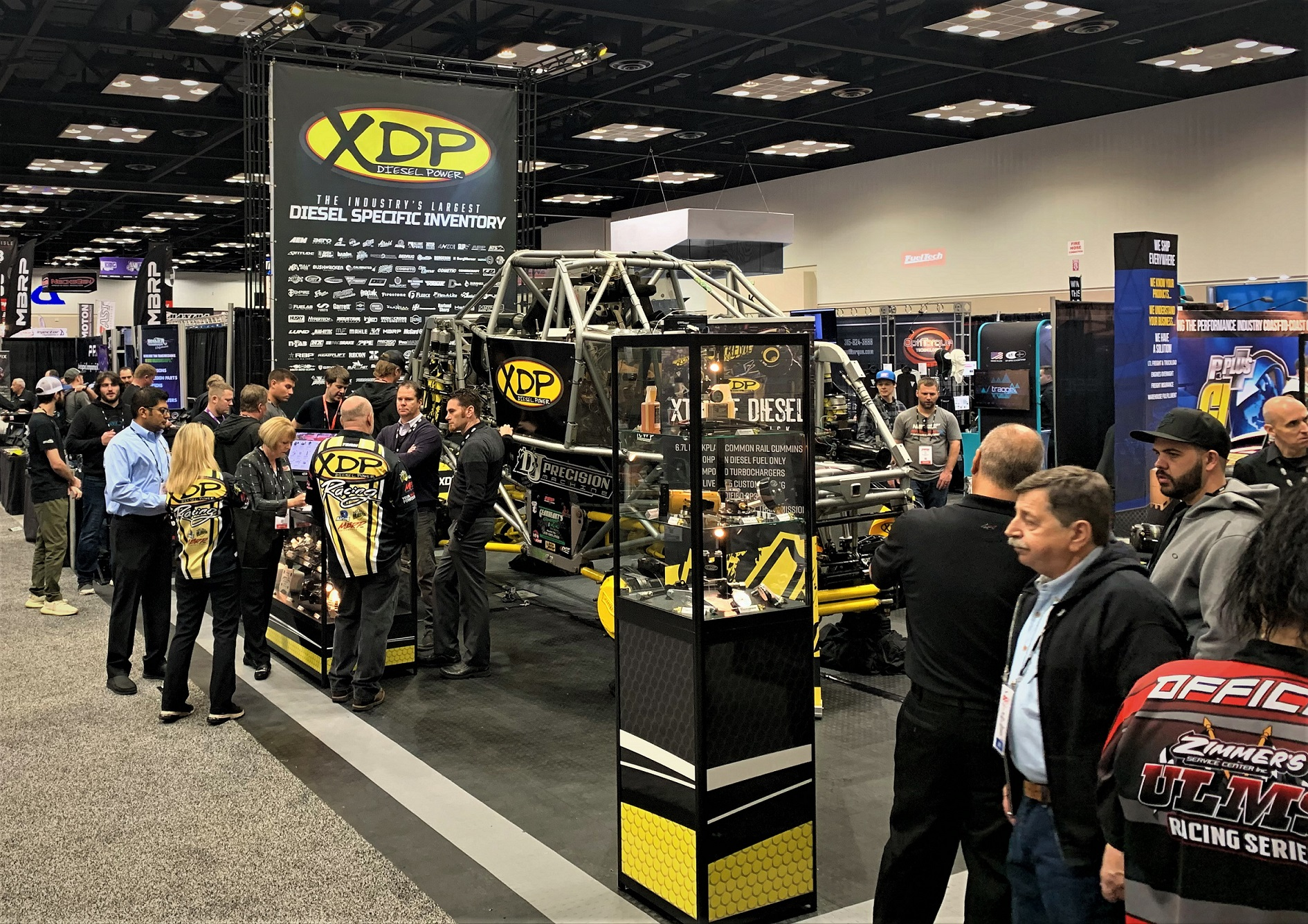 "XDP ""Xtreme Diesel"" Monster Truck at 2019 PRI Show"