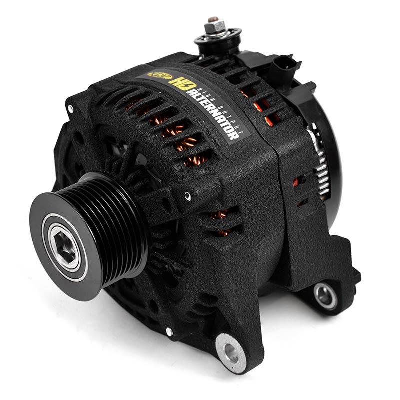 XDP Wrinkle Black HD High Output Alternator XD354
