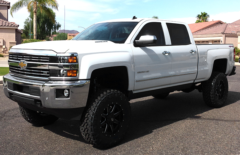 2015 Chevy Silverado 2500HD Built By Kenny E.