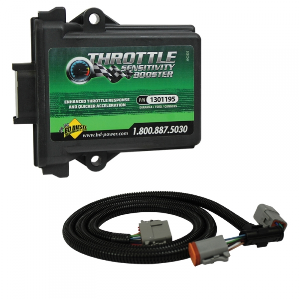 BD-Power 1057712 Throttle Sensitivity Booster