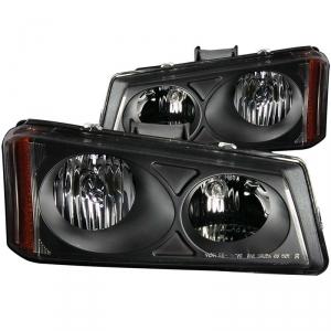 Anzo Chevrolet Silverado Crystal (Black) 111009