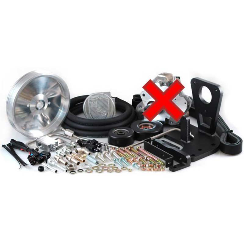 H&S Motorsports 131002 Dual High Pressure Fuel Kit w/o CP3