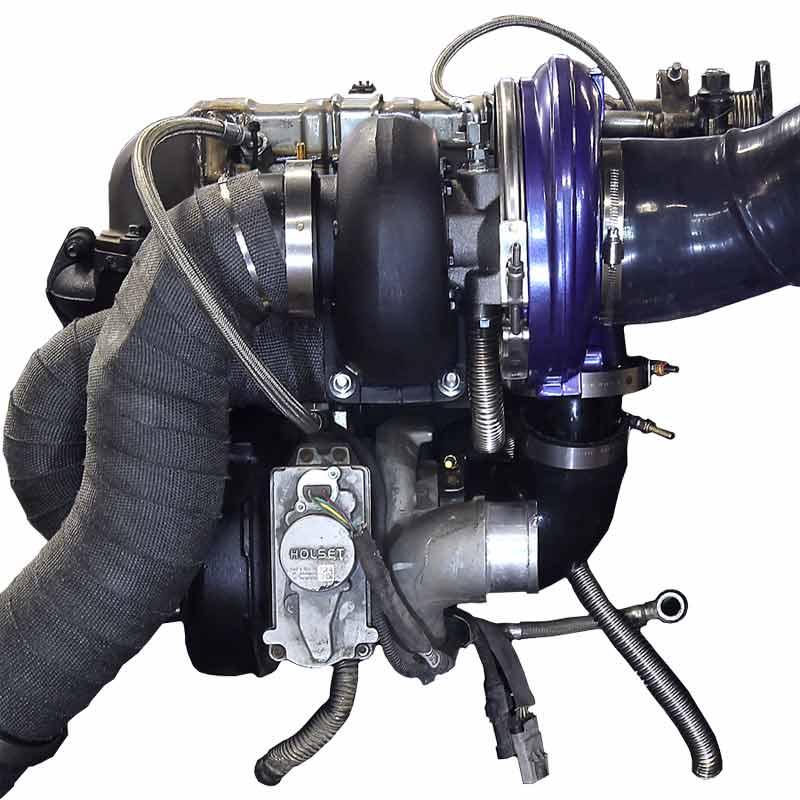 Pusher Cummins Compound Turbo: ATS 2029522356 Aurora Plus 5000 Compound Turbo System