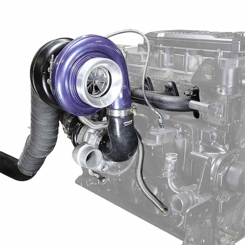 Pusher Cummins Compound Turbo: ATS 2029722272 Aurora Plus 7500 Compound Turbo System