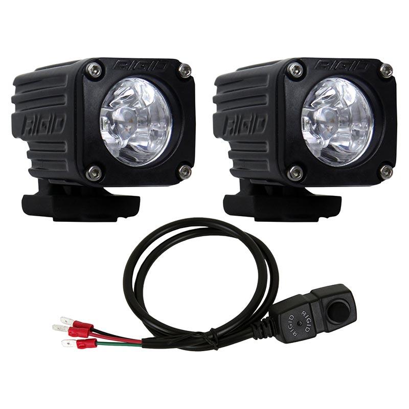 Rigid Industries 20741 Ignite Motorcycle Flood Light Kit