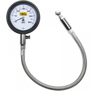 Auto Meter 2160 60 PSI Mechanical Tire Pressure Gauge