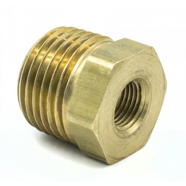 Auto Meter 2285 12 Npt Male 18 Npt Female Adapter Fitting