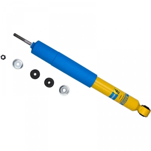 Bilstein B6 4600 Kit 2 Front Shocks For Ford F-450 Super Duty Lariat 1999-2004 Ride Monotube Gas Charged Series Replacement Shock Absorbers