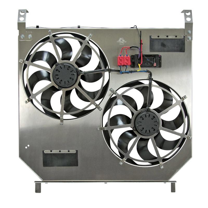 Flex A Lite 274 Direct Fit Dual Electric Fans W Variable