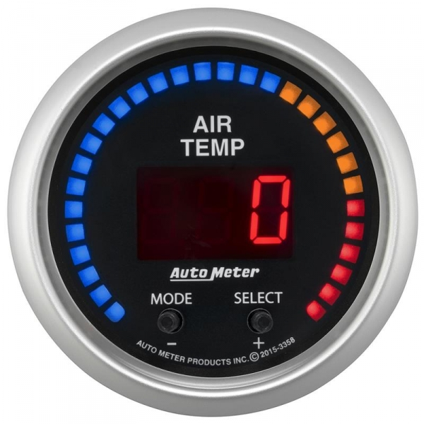 Auto Meter 3358 Sport-Comp Dual Channel Air Temp Gauge