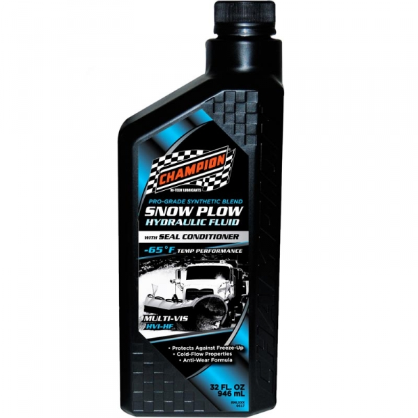 Champion 4013 Pro-Grade Synthetic Blend Snow Plow Hydraulic Oil