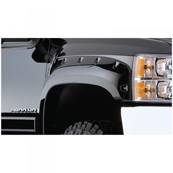 Bushwacker 40924-02 Chevrolet Pocket Style Fender Flare Set of 4