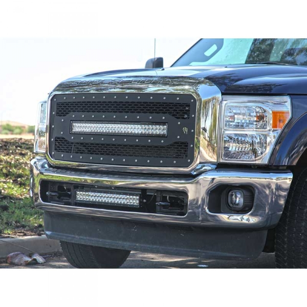 Rigid industries 41580 rds series grille w 30 light bar mozeypictures Image collections