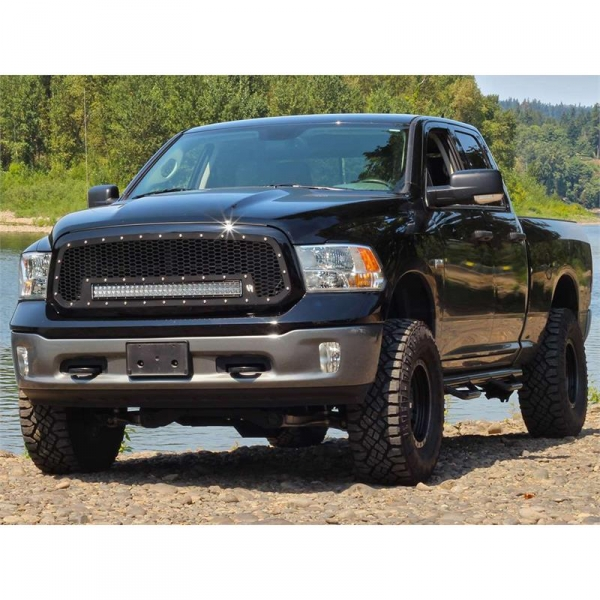 Rigid industries 41585 rds series grille w 30 light bar mozeypictures Images