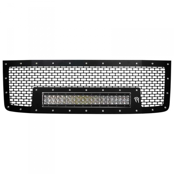 Rigid industries 41590 rds series grille w 20 light bar aloadofball Image collections