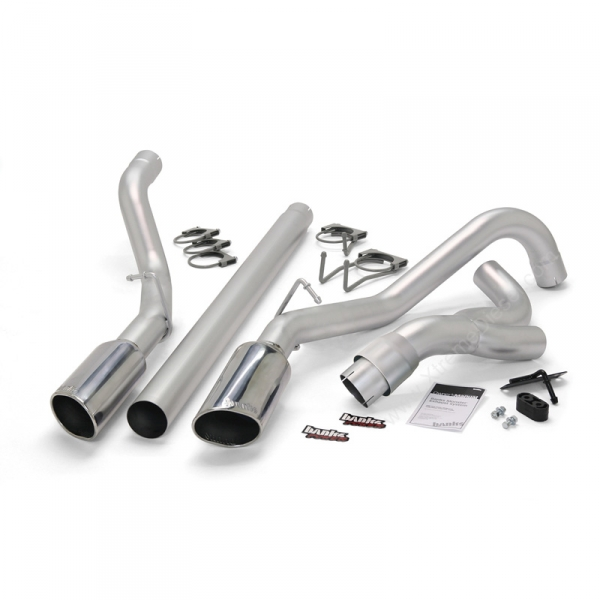 Banks Power Dual Monster Exhaust System (Powerstroke 6 4L)