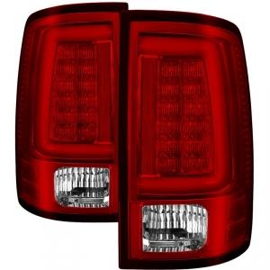 Spyder 5084040 Red LED Light Bar Tail Lights