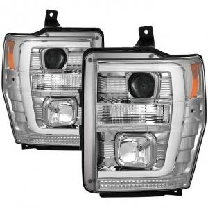 Spyder 5086211 Chrome Version 2 Switch Back Projector Headlights