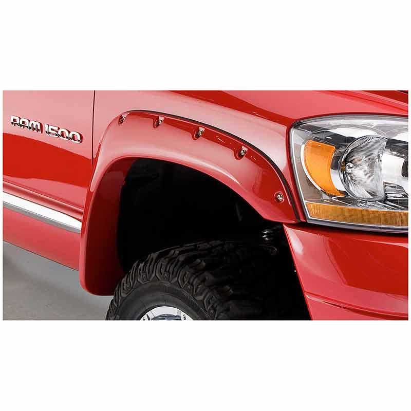 Bushwacker 50907 02 pocket style fender flare set sciox Images