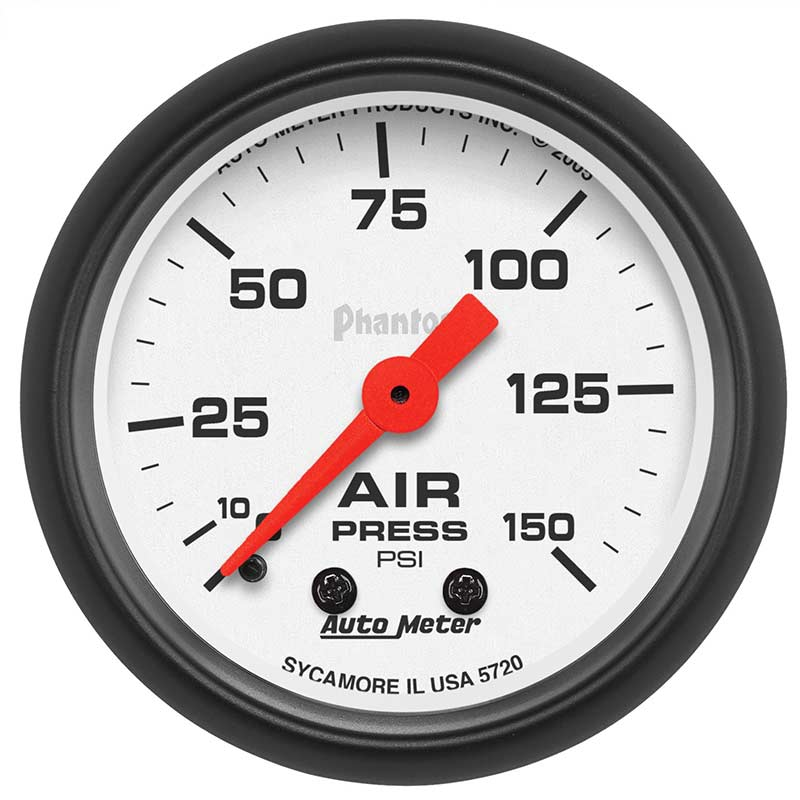 Auto Meter 5720 Phantom Series Air Pressure Gauge