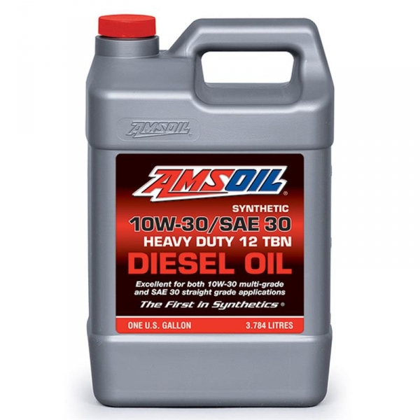 Amsoil 10w 30 Sae Synthetic Heavy Duty Sel Engine Oil