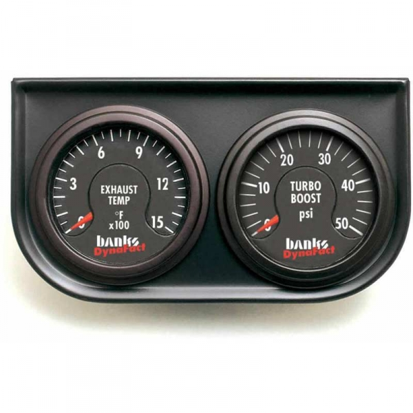 Banks Power Electronic Pyrometer & Boost Gauge Assembly 64507
