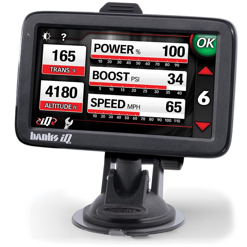 61185 Banks Power Black Back-up Camera Banks iQ for 61162 only