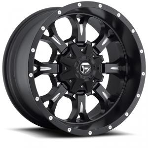 "17/"" Fuel Hostage D531 Black Wheel 17x9 6x135 6x5.5 1mm Ford Chevy GMC 6 Lug Rim"
