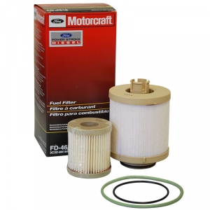 6.0 Powerstroke Diesel Econoline Van Genuine Ford Motorcraft OEM Fuel Filter Kit