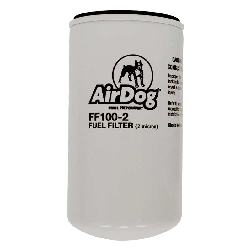 airdog ff100 2 replacement fuel filter (2 micron) AirDog 150 Fuel Filters