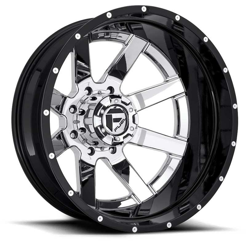 Fuel Off Road Maverick Rear Dually Wheel Chrome Amp Black