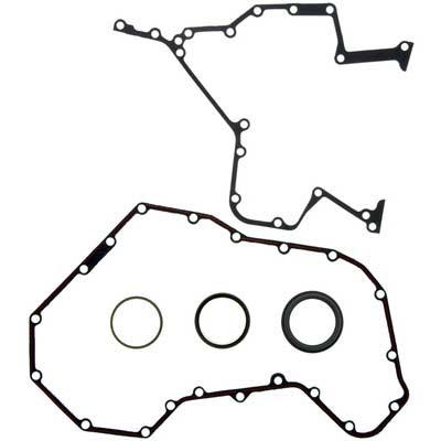 4 Mahle JV1073 Engine Timing Cover Gasket Set-VIN