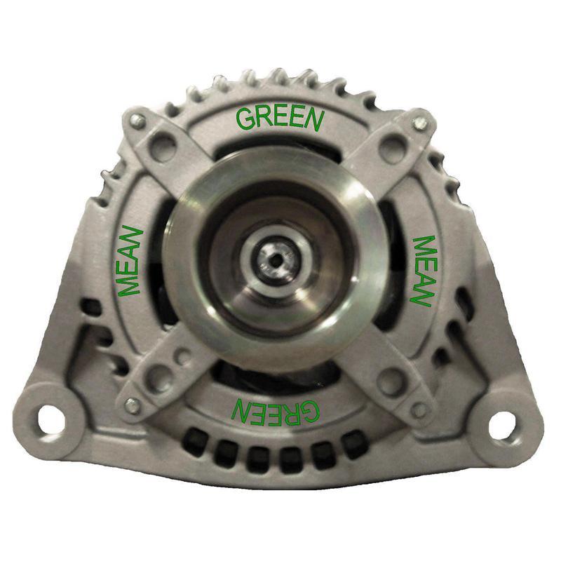 Mean Green 1398 High Output Alternator