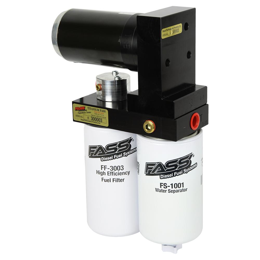 Fass Ts F17 125g Titanium Signature Series 125gph Fuel System 2003 Ram 1500 Filter