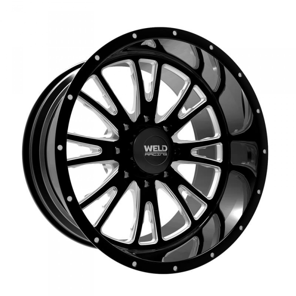 weld racing xt custom f ed slingblade wheel black milled Lift Kit for a Dodge 2500 1997 prev