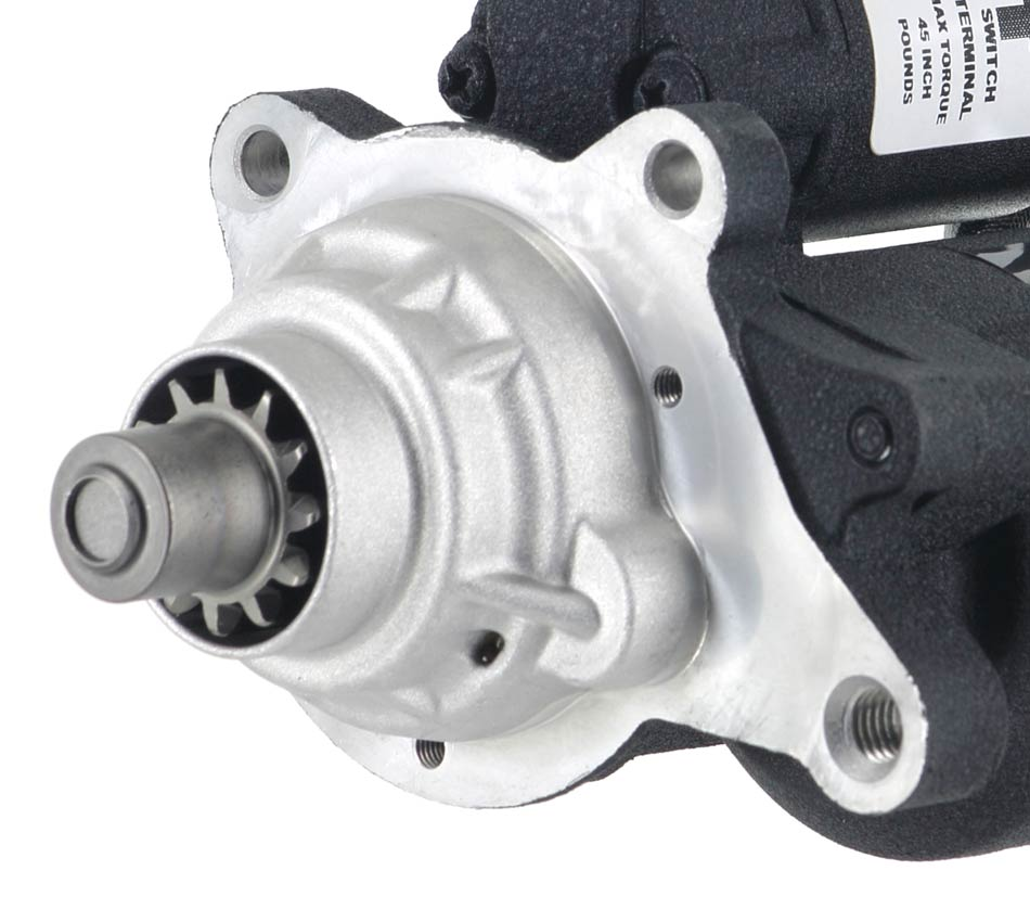XDP Wrinkle Black Gear Reduction Starter XD254